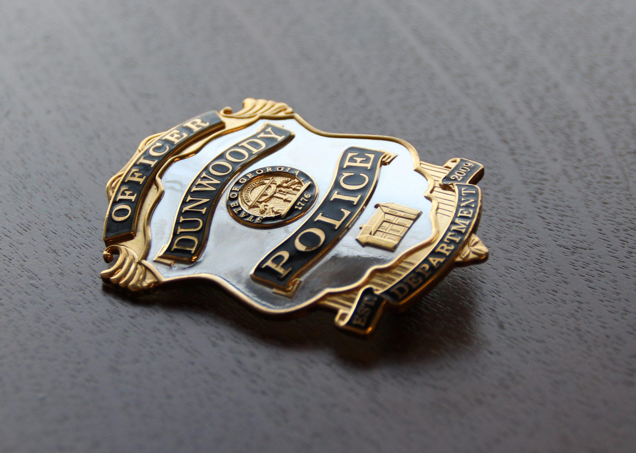 dunwoody police badge